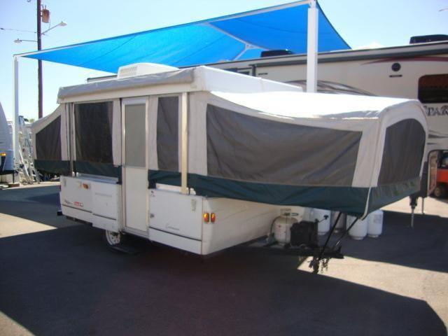 2002 Coleman Cottonwood 10ft Pop Up Bumper Pull Travel Trailer For Sale In Mesa Arizona