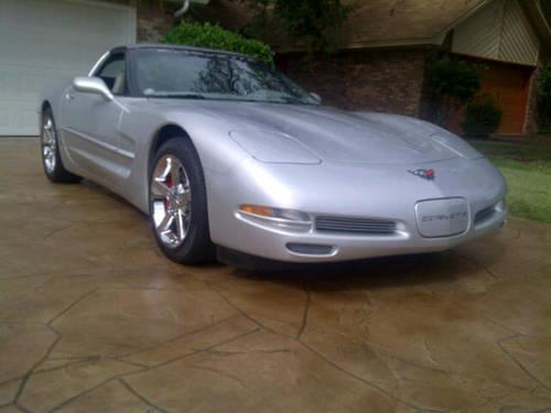 2002 Corvette C5 Coupe, Quicksilver, 6 Speed, 17,000