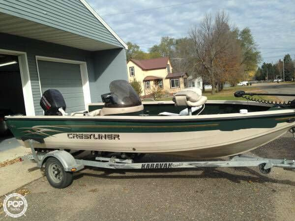 2002 crestliner 1750 fish hawk for sale in farmington