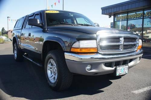 2002 dodge dakota 4d quad cab slt for sale in mcminnville for Larsen motors mcminnville oregon