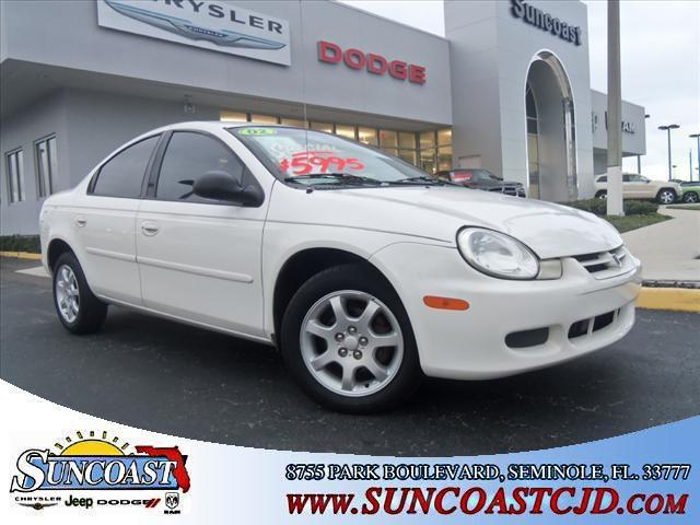 2002 dodge neon se for sale in seminole florida. Black Bedroom Furniture Sets. Home Design Ideas