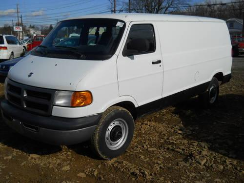 2002 dodge ram cargo van low miles for sale in barnitz pennsylvania classified. Black Bedroom Furniture Sets. Home Design Ideas