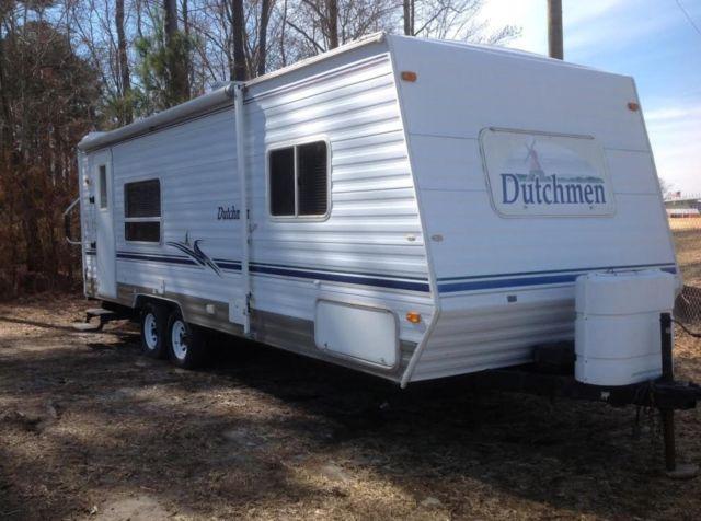 2002 dutchmen lite travel trailer model 26qb for sale in. Black Bedroom Furniture Sets. Home Design Ideas
