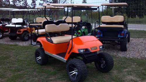 2002 Ezgo GAS Golfcart Golf Cart GREEN