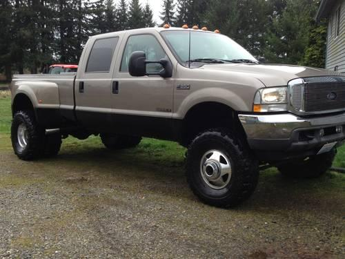 2002 F-350 truck - lifted dually