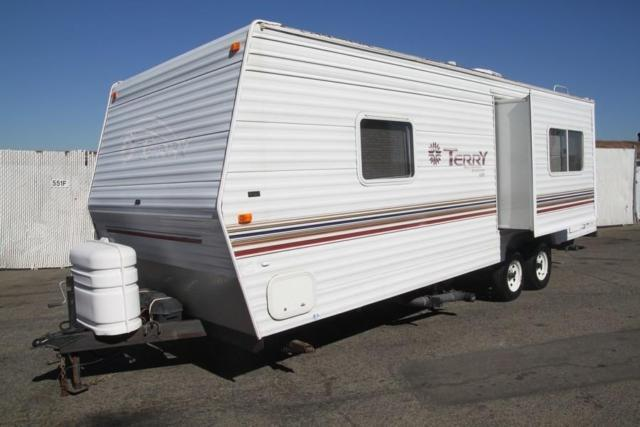 2002 Fleetwood Terry 25 Travel Trailer 1 Slide Out For