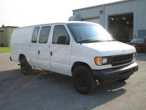 2002 ford e250 extended cargo van long van for under for sale in fort wayne indiana. Black Bedroom Furniture Sets. Home Design Ideas