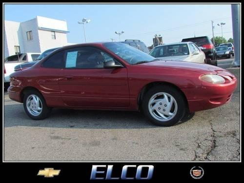 2002 ford escort coupe zx2 for sale in wildwood missouri classified. Black Bedroom Furniture Sets. Home Design Ideas