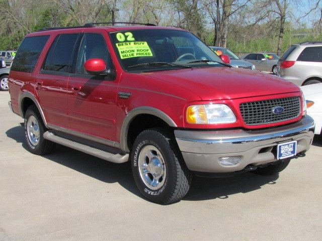 2002 ford expedition eddie bauer for sale in ames iowa. Black Bedroom Furniture Sets. Home Design Ideas
