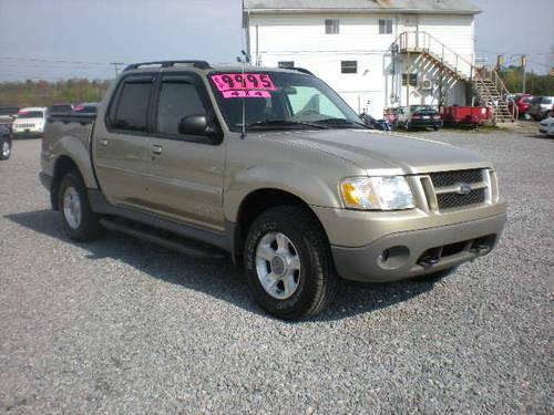 2002 ford explorer sport trac 4wd premium for sale in butler. Cars Review. Best American Auto & Cars Review