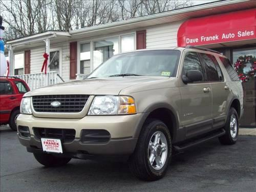 2002 ford explorer suv xlt 4wd 3rd row seat for sale in beemerville new jersey classified. Black Bedroom Furniture Sets. Home Design Ideas