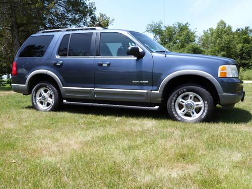 2002 Ford Explorer Xlt >> 2002 Ford Explorer Xlt 4x4 For Sale In Carson City Michigan