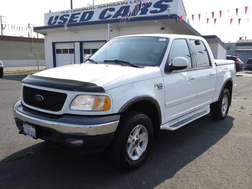 2002 ford f 150 4 door crew cab short bed truck xlt for. Black Bedroom Furniture Sets. Home Design Ideas