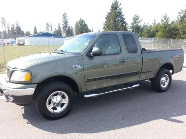 2002 ford f 150 4dr supercab king ranch 4wd styleside sb for sale in coeur d 39 alene idaho. Black Bedroom Furniture Sets. Home Design Ideas