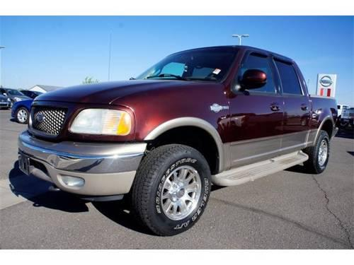 2002 ford f 150 crew cab pickup king ranch for sale in colona colorado classified. Black Bedroom Furniture Sets. Home Design Ideas