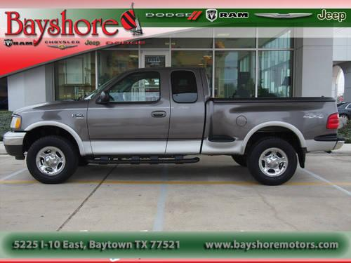 2002 ford f 150 extended cab pickup 4x4 flareside lariat 4x4 for sale in baytown texas. Black Bedroom Furniture Sets. Home Design Ideas