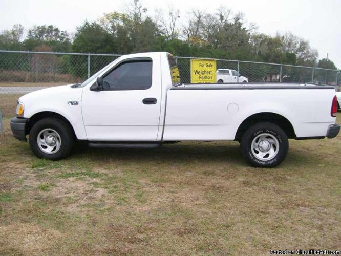 2002 ford f 150 xl long bed truck for sale in brooksville florida classified. Black Bedroom Furniture Sets. Home Design Ideas