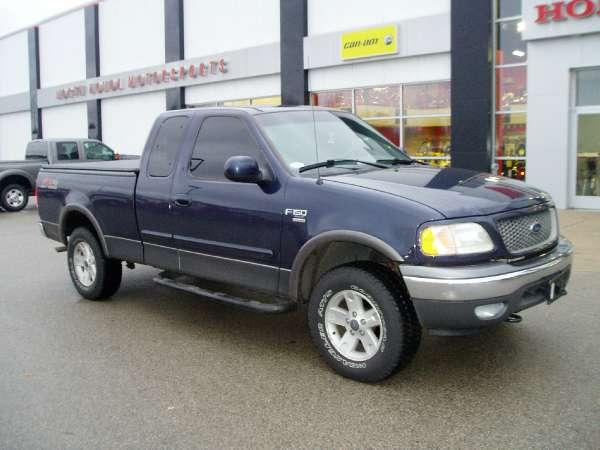 2002 ford f150 super cab 4x4 xlt fx4 for sale in menominee michigan classified. Black Bedroom Furniture Sets. Home Design Ideas