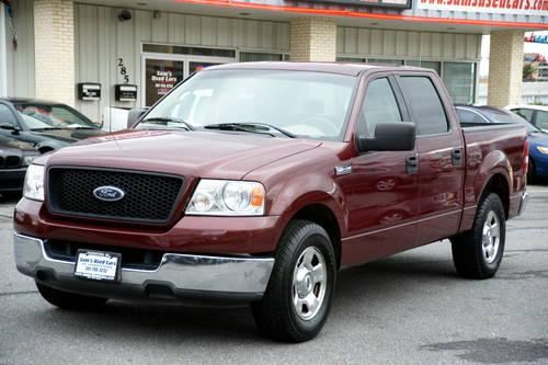 2002 Ford F150 XLT SuperCab 4WD-5 Speed-Black-116k Miles ...