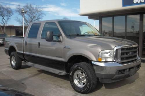 2002 ford f250 lariat crew cab 4wd 7 3 tan for sale in houston texas classified. Black Bedroom Furniture Sets. Home Design Ideas