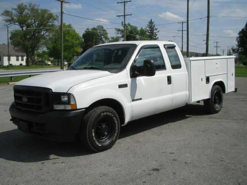 Ford Utility Bed Service Utility Bed