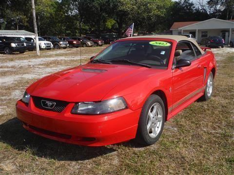 Julians Auto Showcase >> 2002 Ford Mustang Convertible Deluxe Convertible 2D for ...