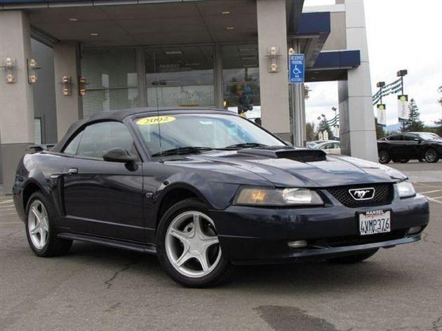 2002 Ford Mustang Gt Convertible For Sale In Santa Rosa