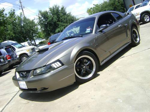 2002 ford mustang gt leather mach 460 5 speed fast muscle for sale in houston texas. Black Bedroom Furniture Sets. Home Design Ideas