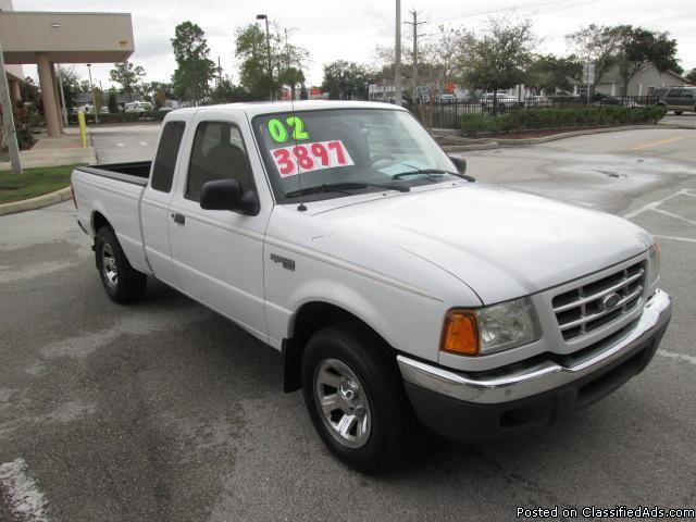 2002 Ford Ranger Super Cab For Sale In Melbourne Florida
