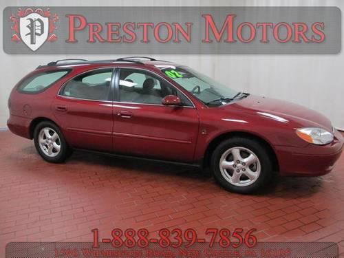 2002 ford taurus 4d station wagon se for sale in castle for Preston motors new castle