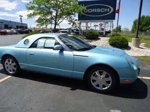 Dorsch Ford Green Bay >> 2002 Ford Thunderbird Convertible BASE for Sale in Green Bay, Wisconsin Classified ...