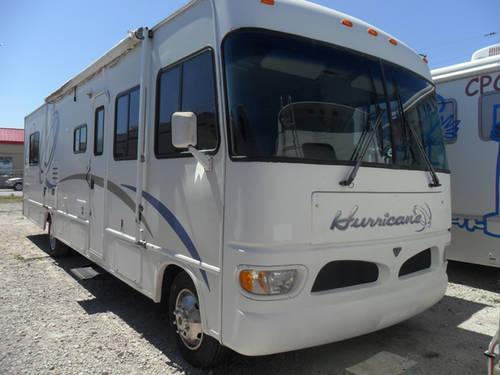 2002 four winds rv hurricane 33sl motor home class a for for Class a rv height