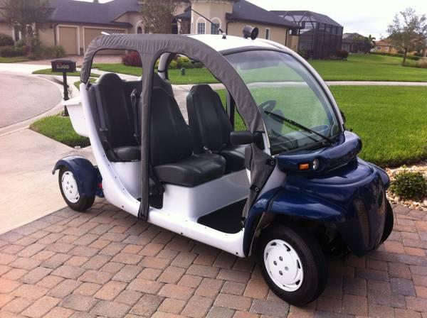 2002 gem car golf cart 4 seater for sale in melbourne florida classified. Black Bedroom Furniture Sets. Home Design Ideas
