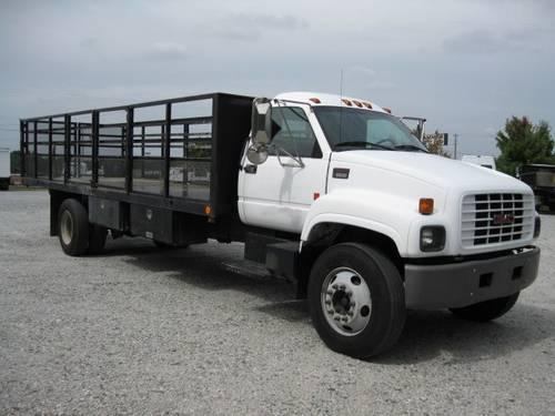 2002 gmc 24 39 flatbed truck for sale in salisbury north carolina classified. Black Bedroom Furniture Sets. Home Design Ideas