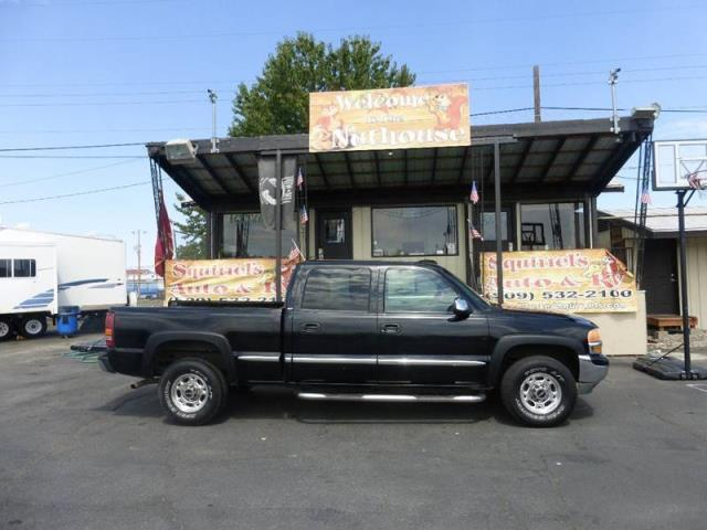 2002 Gmc Sierra 1500hd Slt 4dr Crew Cab Slt 2wd Sb For