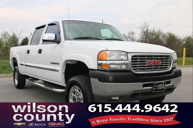 2002 GMC Sierra 2500HD SL 4dr Crew Cab SL 4WD LB for Sale in Lebanon, Tennessee Classified ...