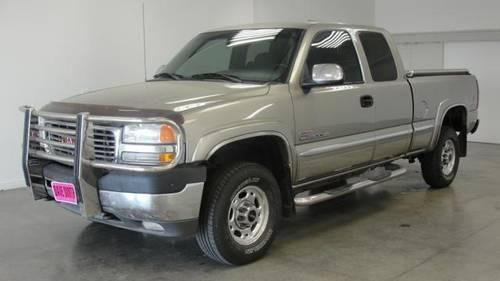 2002 gmc sierra 2500hd truck 4x4 sle extended cab for sale in kellogg idaho classified. Black Bedroom Furniture Sets. Home Design Ideas