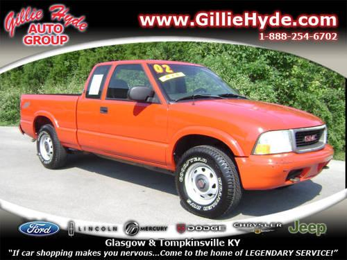 2002 gmc sonoma extended cab pickup 4x4 sl 4x4 for sale in dry fork kentucky classified. Black Bedroom Furniture Sets. Home Design Ideas