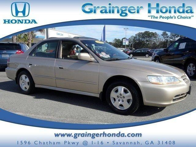 2002 honda accord 4dr car ex auto v6 wleather for sale in savannah georgia classified. Black Bedroom Furniture Sets. Home Design Ideas
