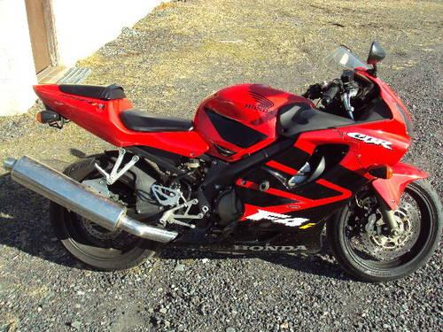 2002 honda cbr 600 f4i for sale in pottstown pennsylvania classified. Black Bedroom Furniture Sets. Home Design Ideas