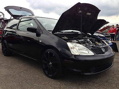 2002 honda civic si hatchback 3 door 2 0l for sale in east. Black Bedroom Furniture Sets. Home Design Ideas