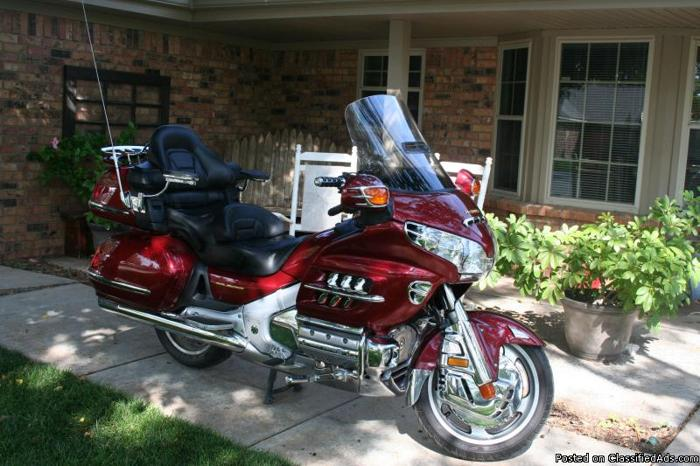 Best Motorcycle Oil >> 2002 Honda Goldwing 1800 for Sale in Amarillo, Texas Classified   AmericanListed.com
