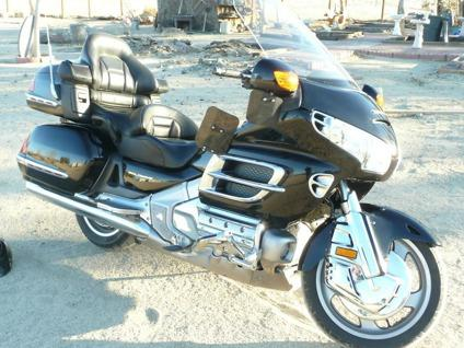 honda goldwing gl custom black  chrome  sale  victorville california
