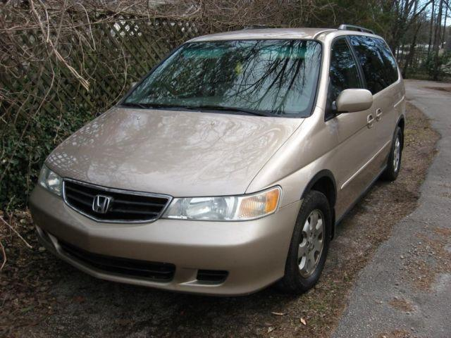 2002 Honda Odyssey Ex L Gold Auto For Sale In Warrenton