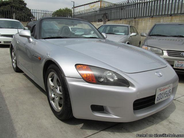 2002 honda s2000 silver black clean title for sale in rosemead california classified. Black Bedroom Furniture Sets. Home Design Ideas
