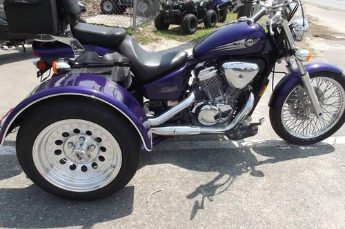 2002 honda shadow 600cc trike for sale in astor florida. Black Bedroom Furniture Sets. Home Design Ideas