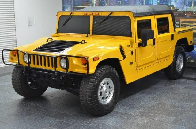 2002 hummer h1 open top convertible excellent mechanical condition for sale in addison texas. Black Bedroom Furniture Sets. Home Design Ideas