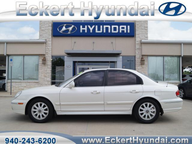 Eckert Hyundai Denton Tx >> 2002 Hyundai Sonata GLS GLS 4dr Sedan for Sale in Denton ...
