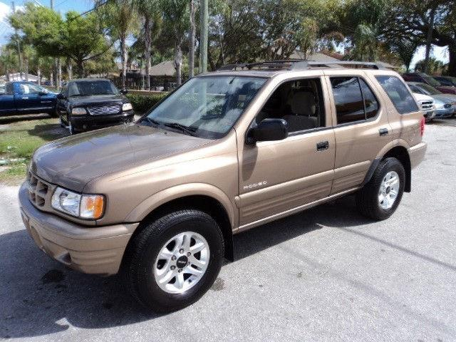 2002 isuzu rodeo ls for sale in clearwater florida. Black Bedroom Furniture Sets. Home Design Ideas