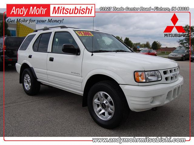 2002 isuzu rodeo ls for sale in fishers indiana. Black Bedroom Furniture Sets. Home Design Ideas